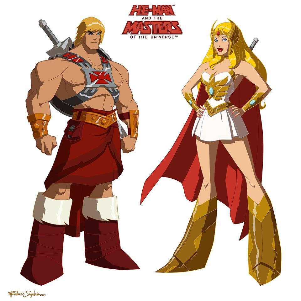 He-Man e She-Ra di Emiliano Santalucia
