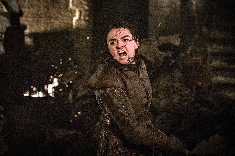 Arya uccide Il Re della Notte