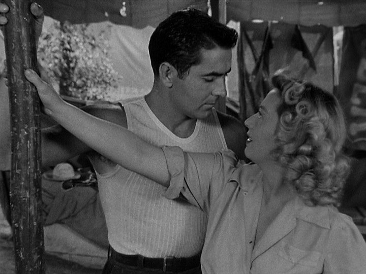 Tyrone Power e Joan Blondell nel Nightmare Alley del 1947