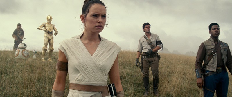 Rey guida il manipolo di eroi in Star Wars - The Rise of Skywalker