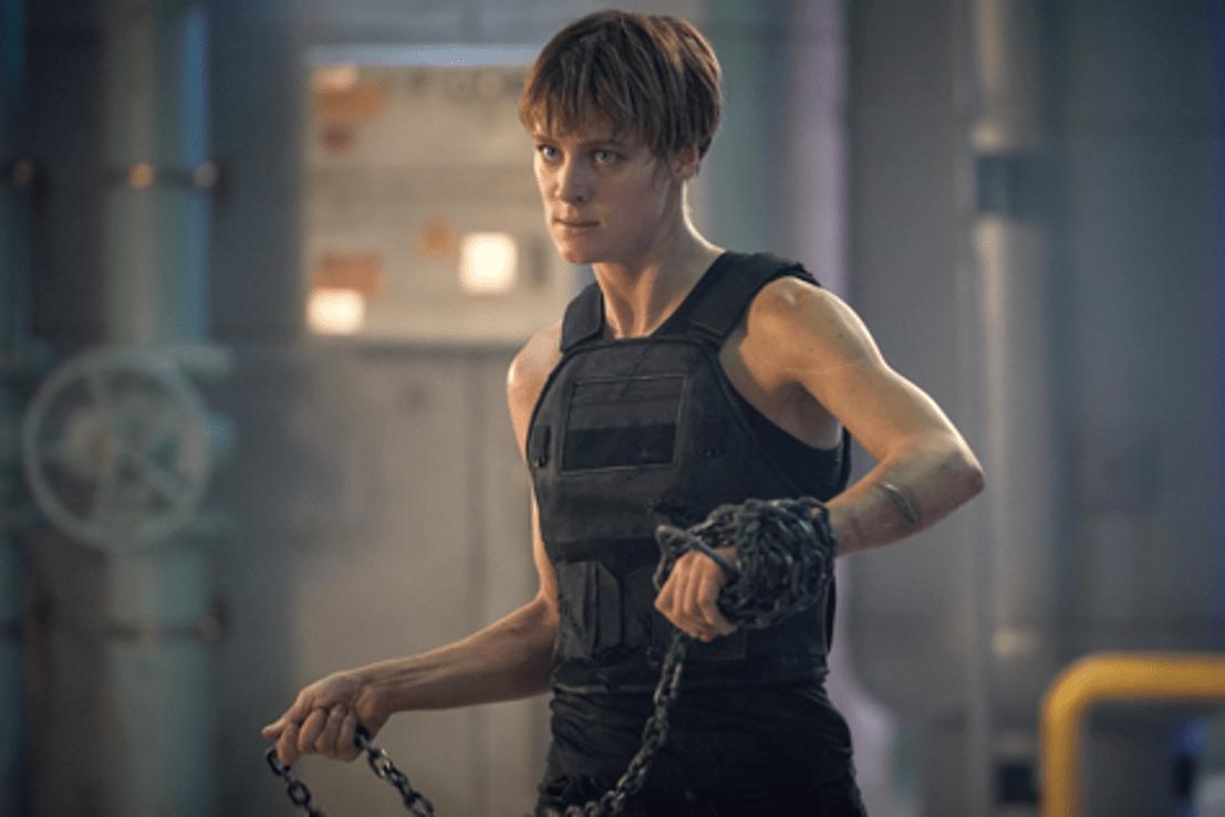 Il Terminator Mackenzie Davis