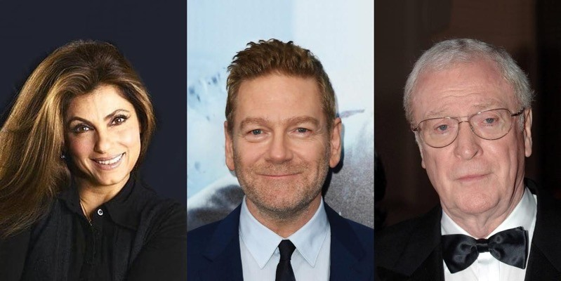 Dimple Kapadia, Kenneth Branagh, Michael Caine