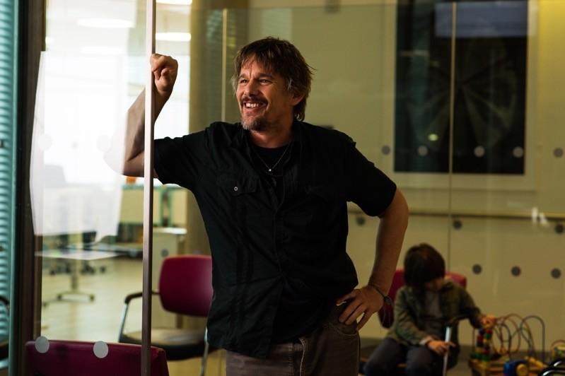 Ethan Hawke nel ruolo di Tucker Crowe in Juliet, Naked - Tutta un'altra musica