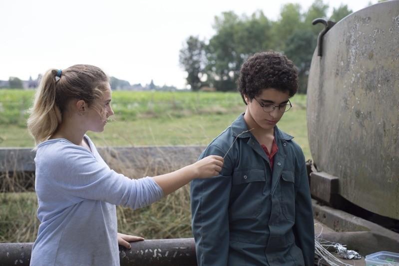 Victoria Bluck e Idir Ben Addi
