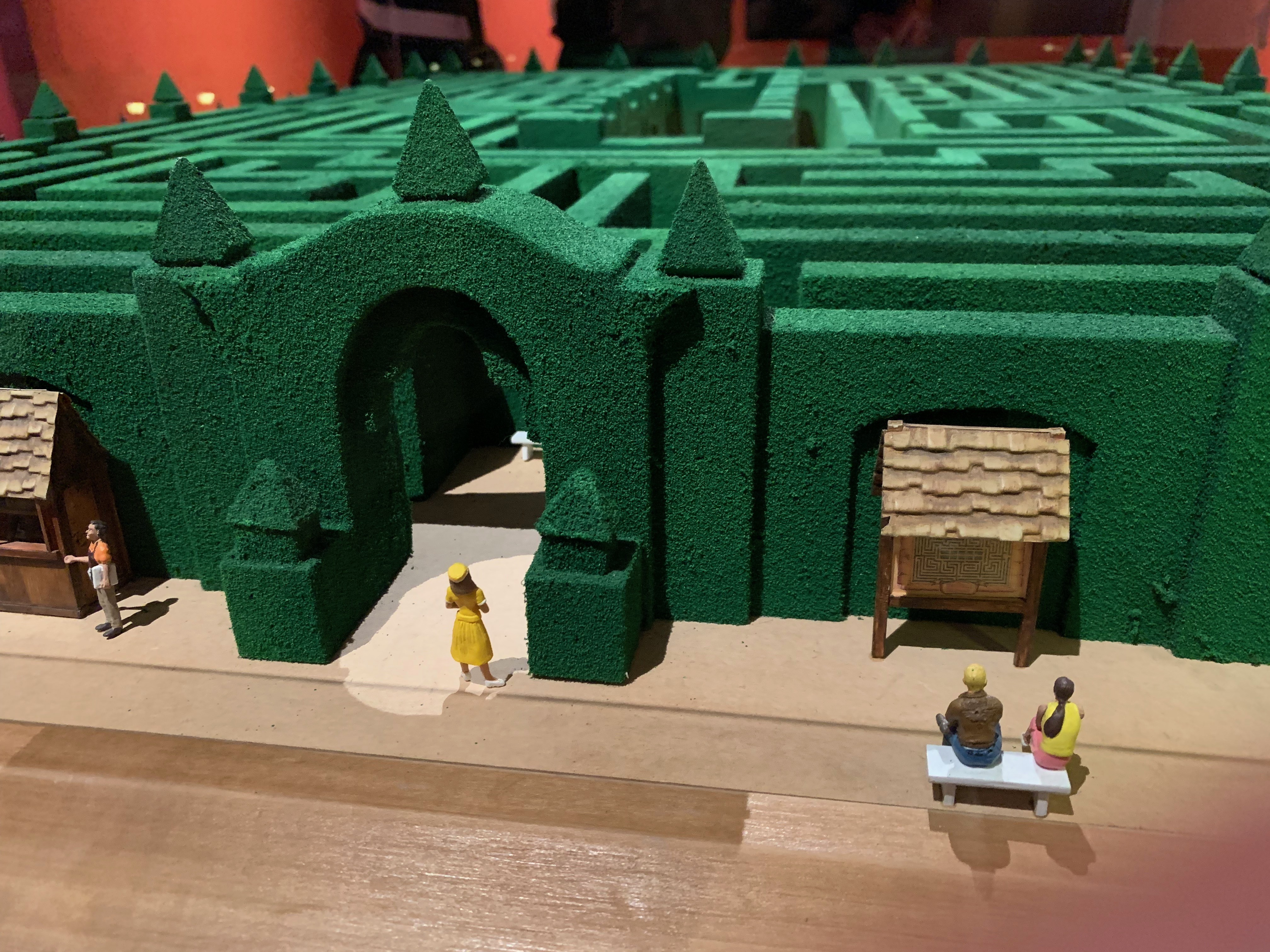 Purtroppo 'Stanley Kubrick: the Exhibition' non è allestita all'interno di un labirinto