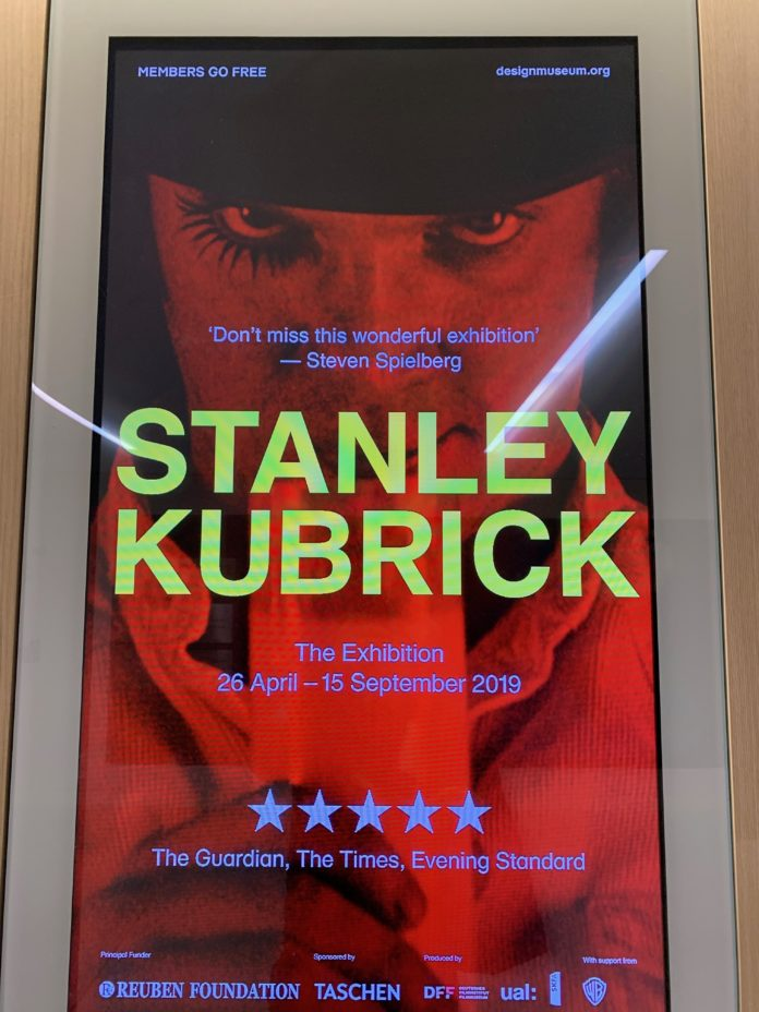 Il poster di Stanley Kubrick: the Exhibition