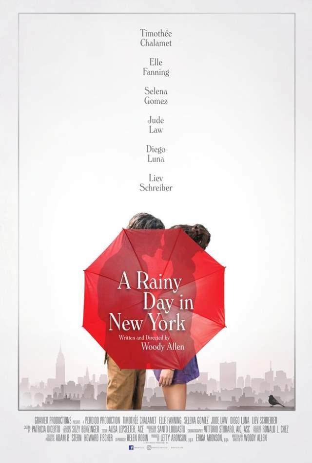 Un giorno di pioggia a New York: il trailer del nuovo film di Woody Allen