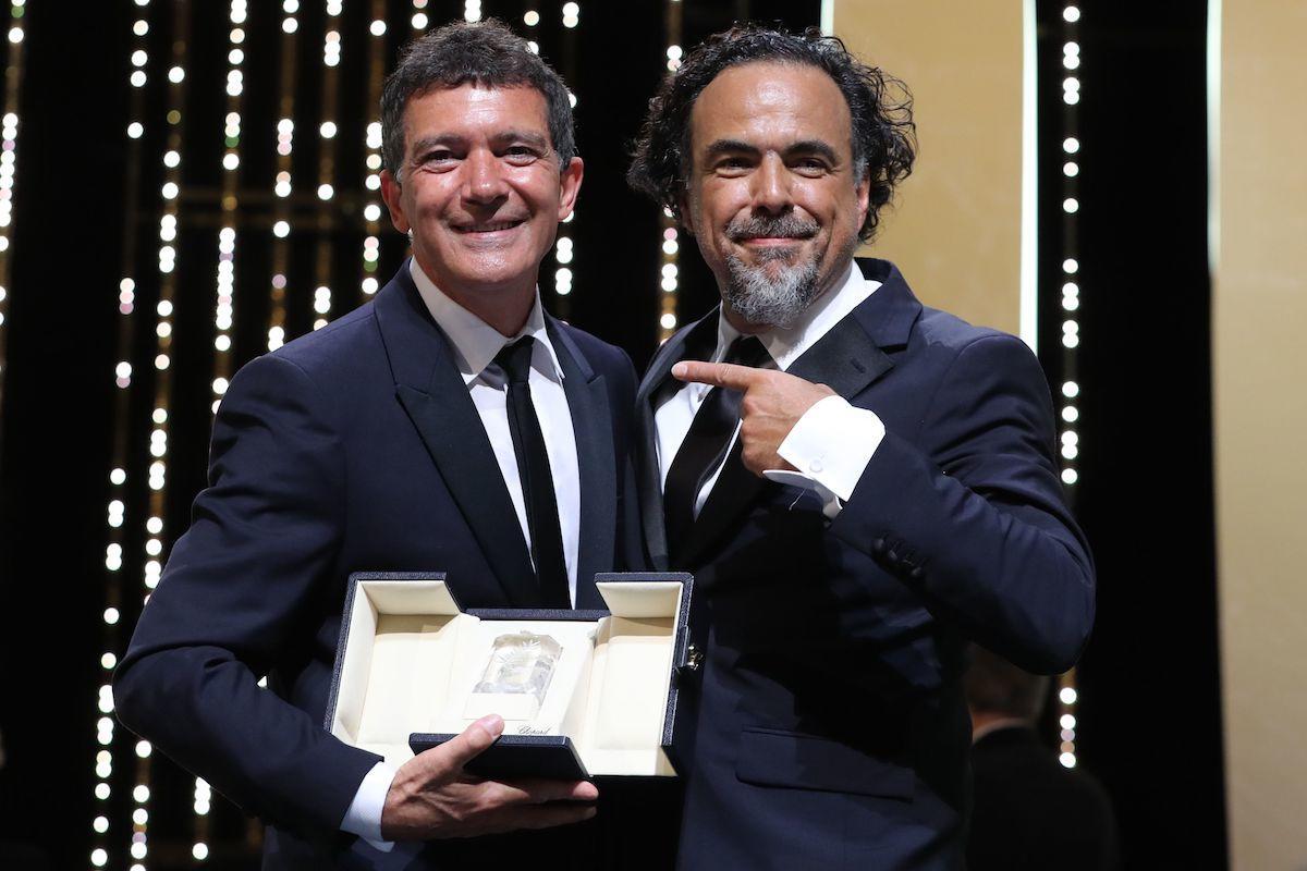 Antonio Banderas a Cannes 72