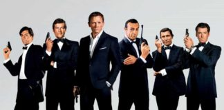 Tutti i James Bond al cinema