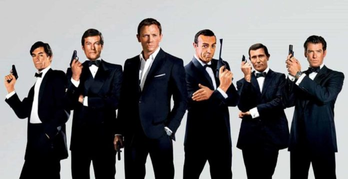 Tutti i James Bond al cinema