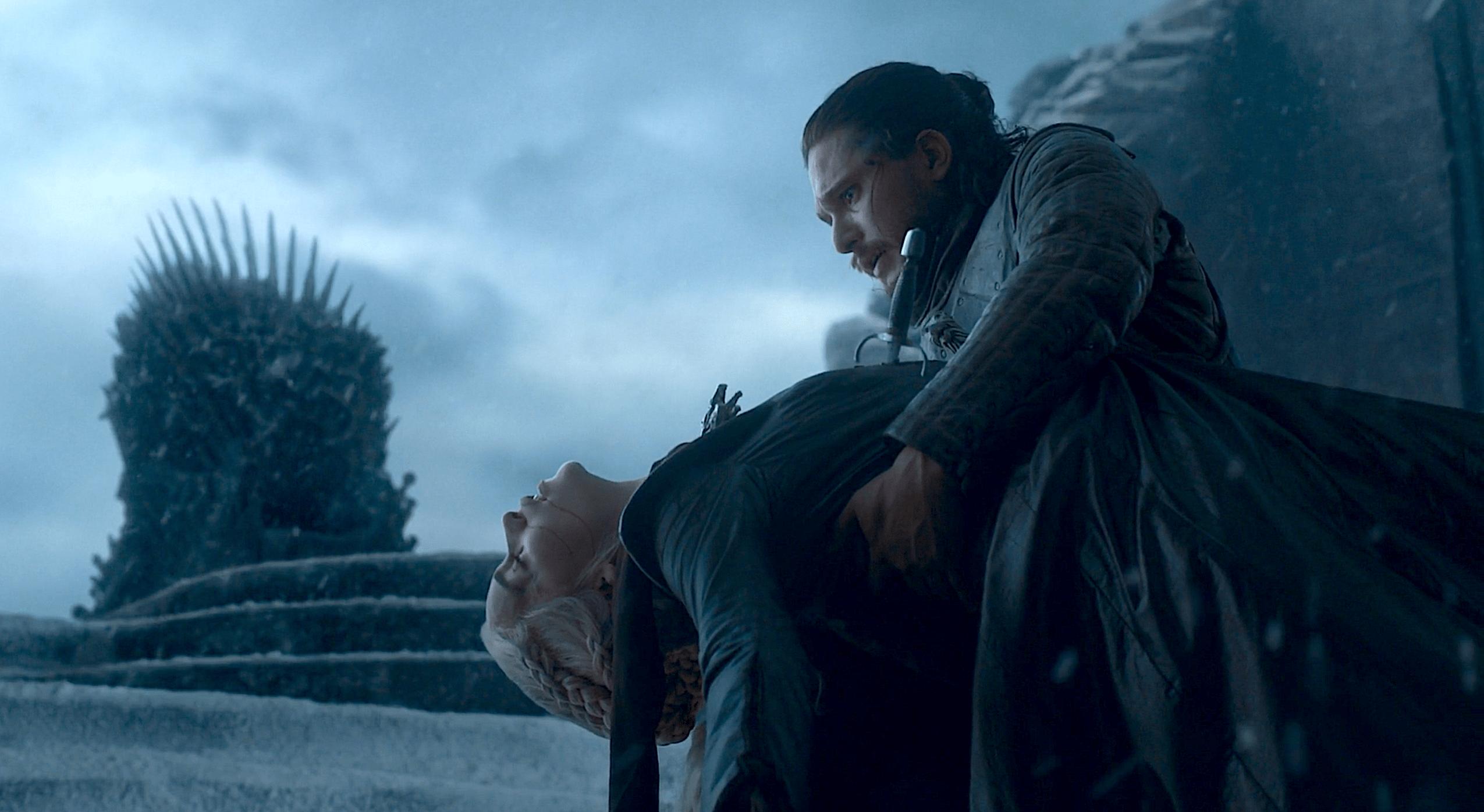 La morte di Daenerys per mano di Jon
