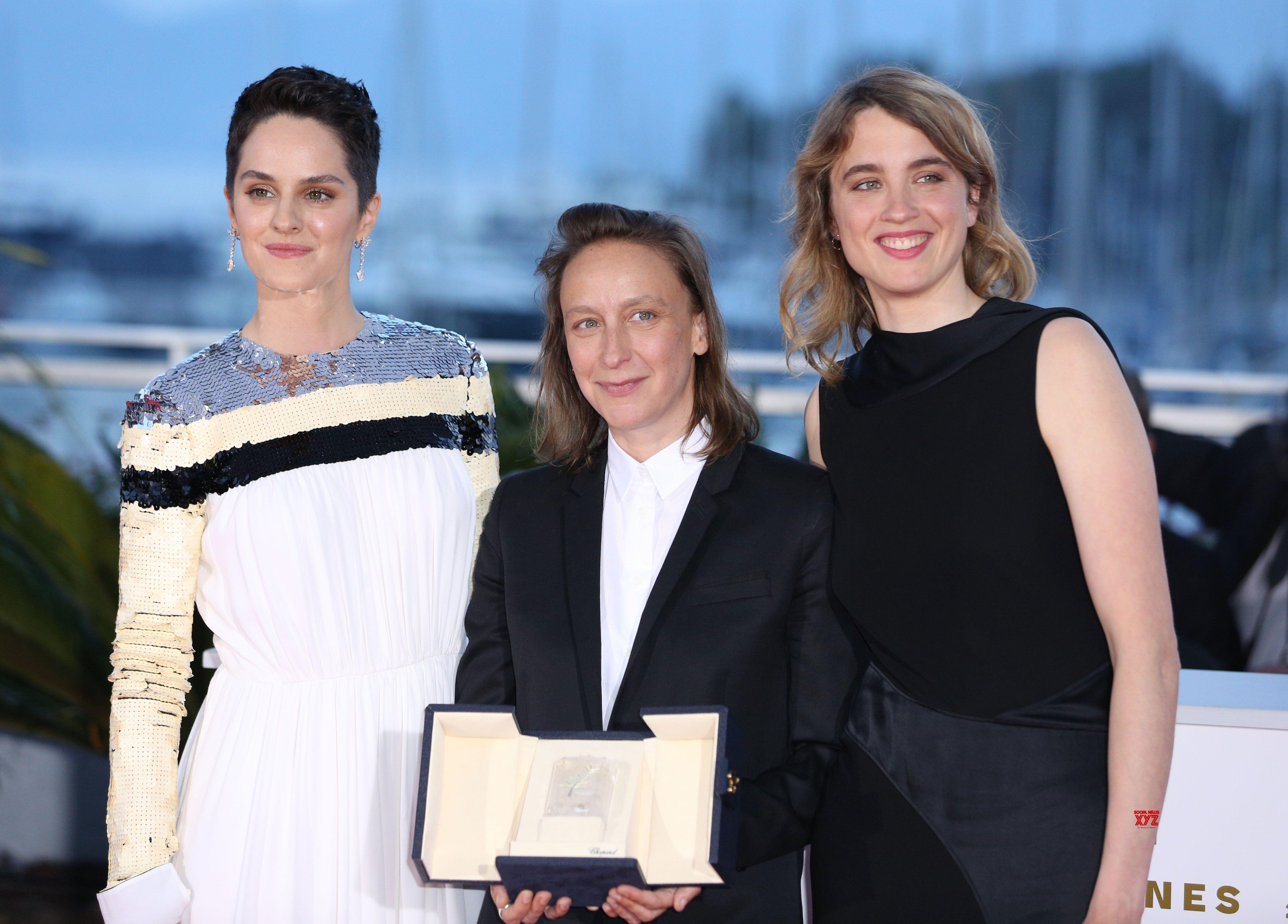 Noémie Merlant Céline Sciamma e Adèle Haenel