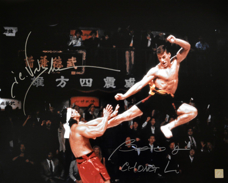 Bolo Yeung e Jean Claude Van Damme