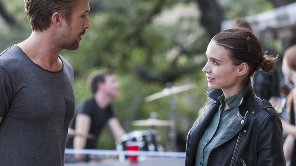 Ryan Gosling e Rooney Mara in Song to Song