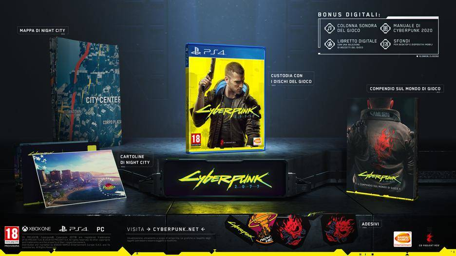 Cyberpunk 2077 Limited Day One Edition