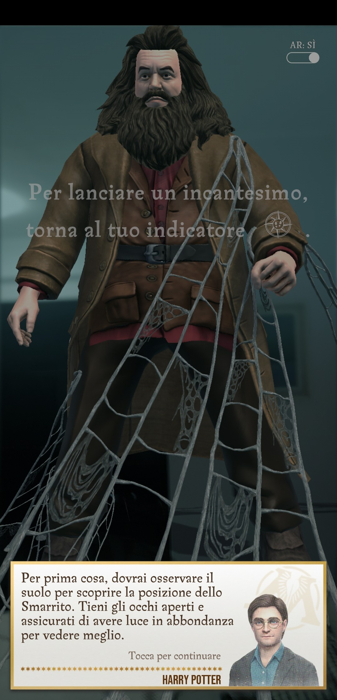Hagrid Smarrito