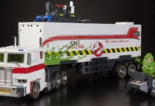 Optimus Prime Ghostbusters figure Hasbro Ecto-35