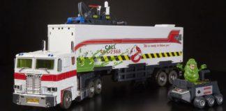 Optimus Prime Ghostbusters figure Hasbro Ecto-35