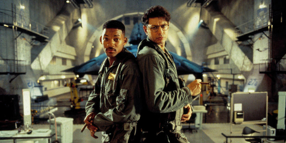 Will Smith e Jeff Goldblum in Independence Day (1996)
