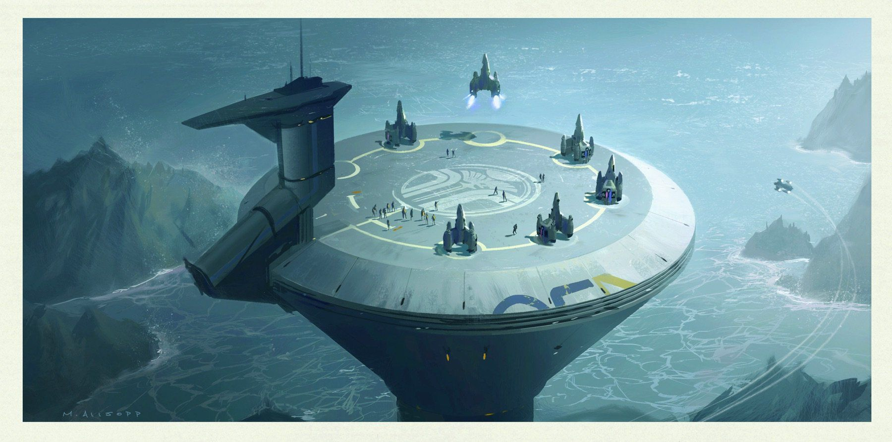 I concept art di The Last Starfighter