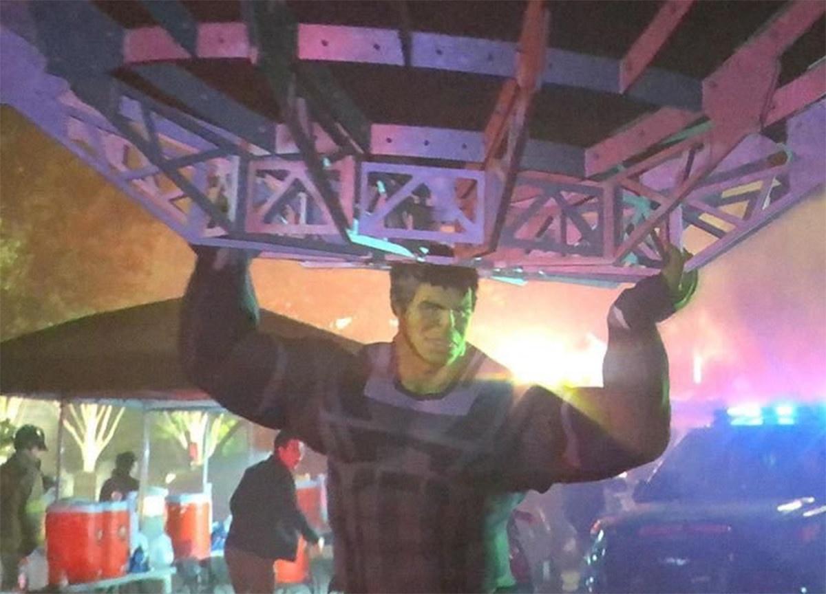 Avengers: Endgame scena tagliata con Hulk