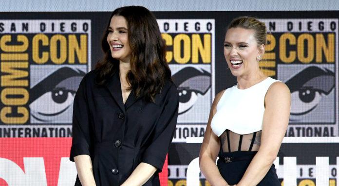 Black Widow: Rachel Weisz con Scarlett Johansson