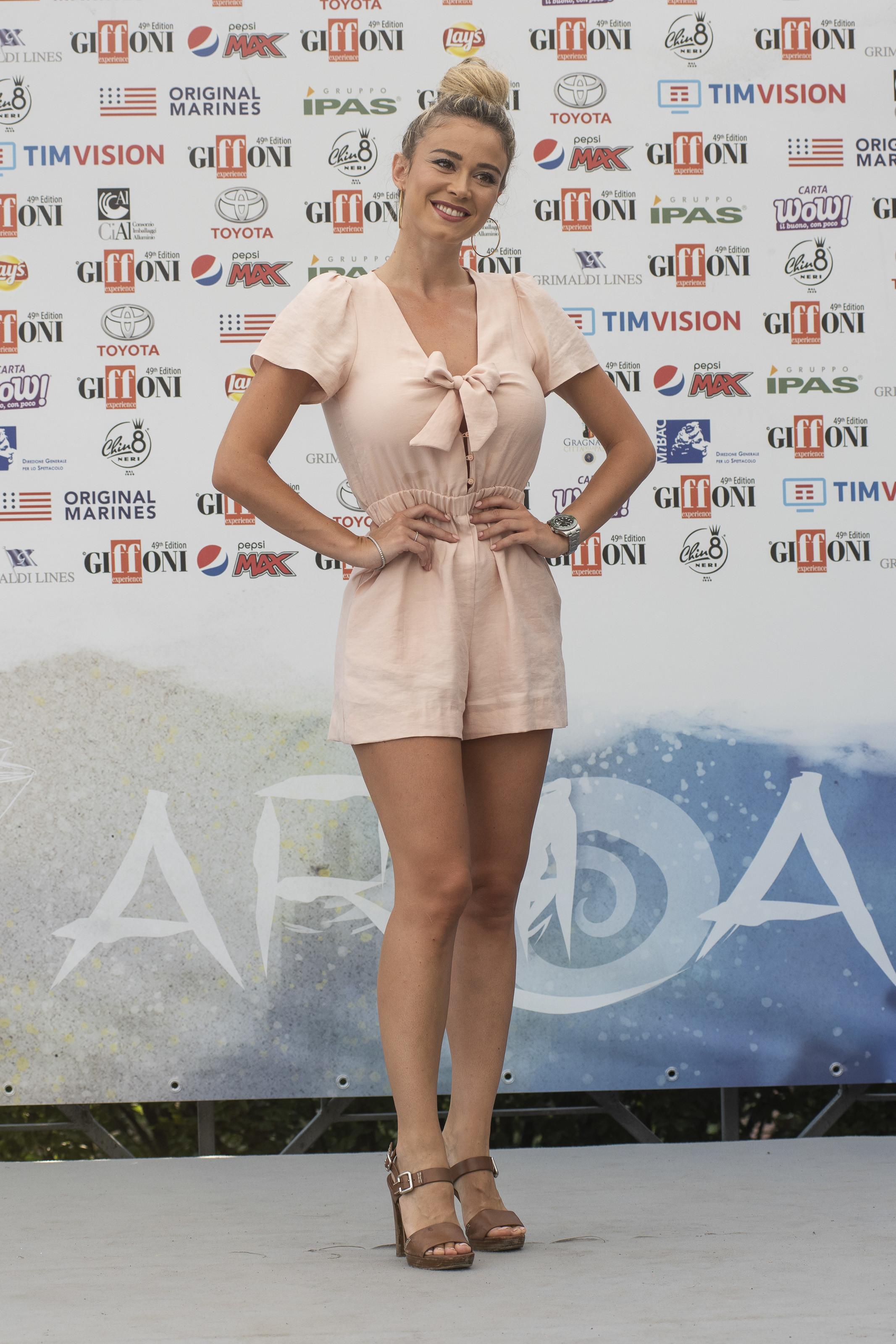 Diletta Leotta al Giffoni Film Festival 2019