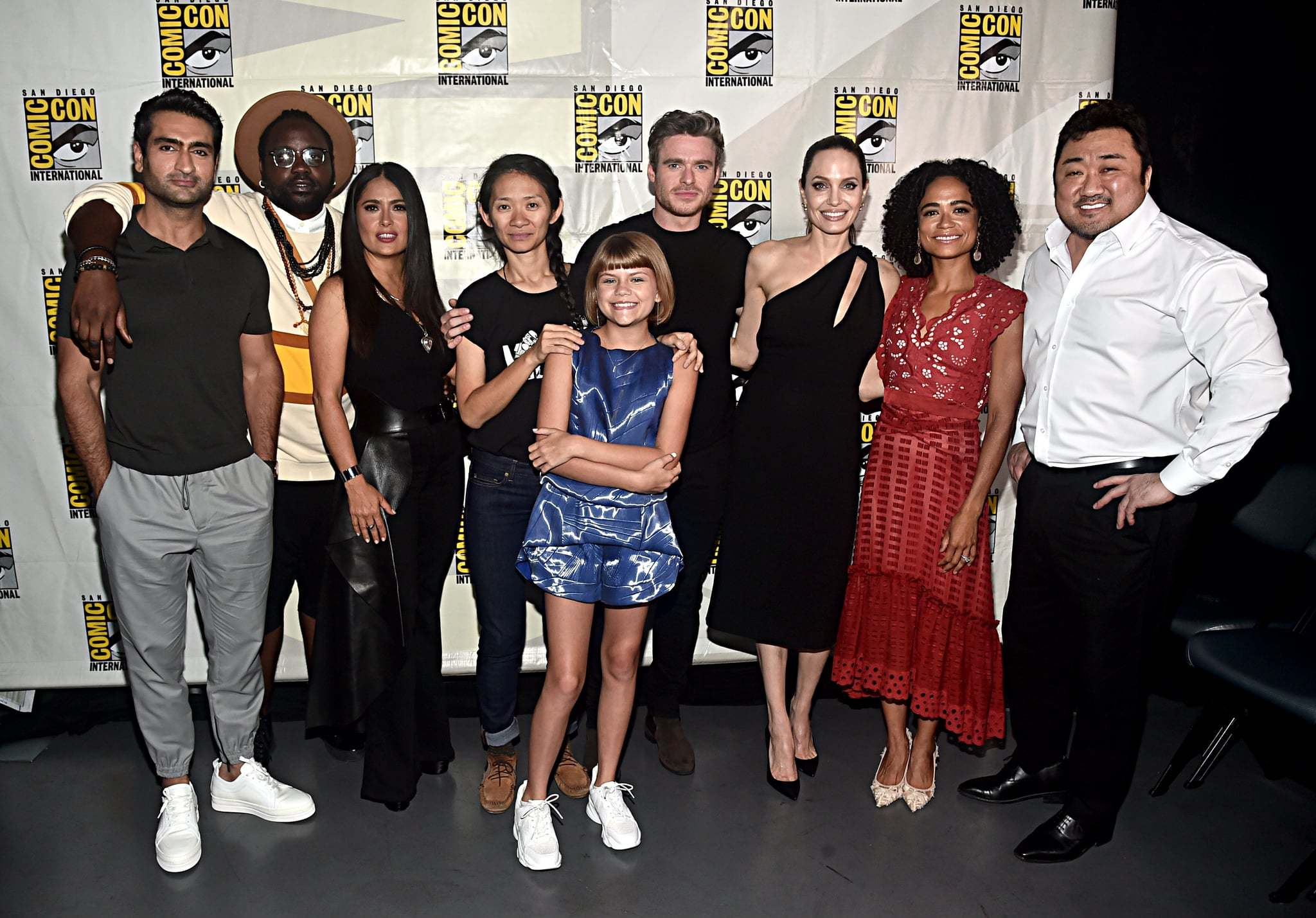 Eternals: Angelina Jolie e gli dei Marvel arrivano al Cinema