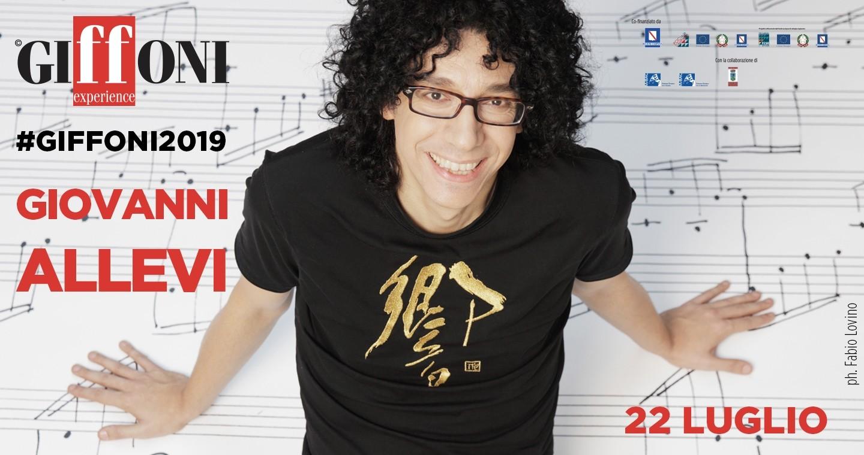 #Giffoni2019: Giovanni Allevi