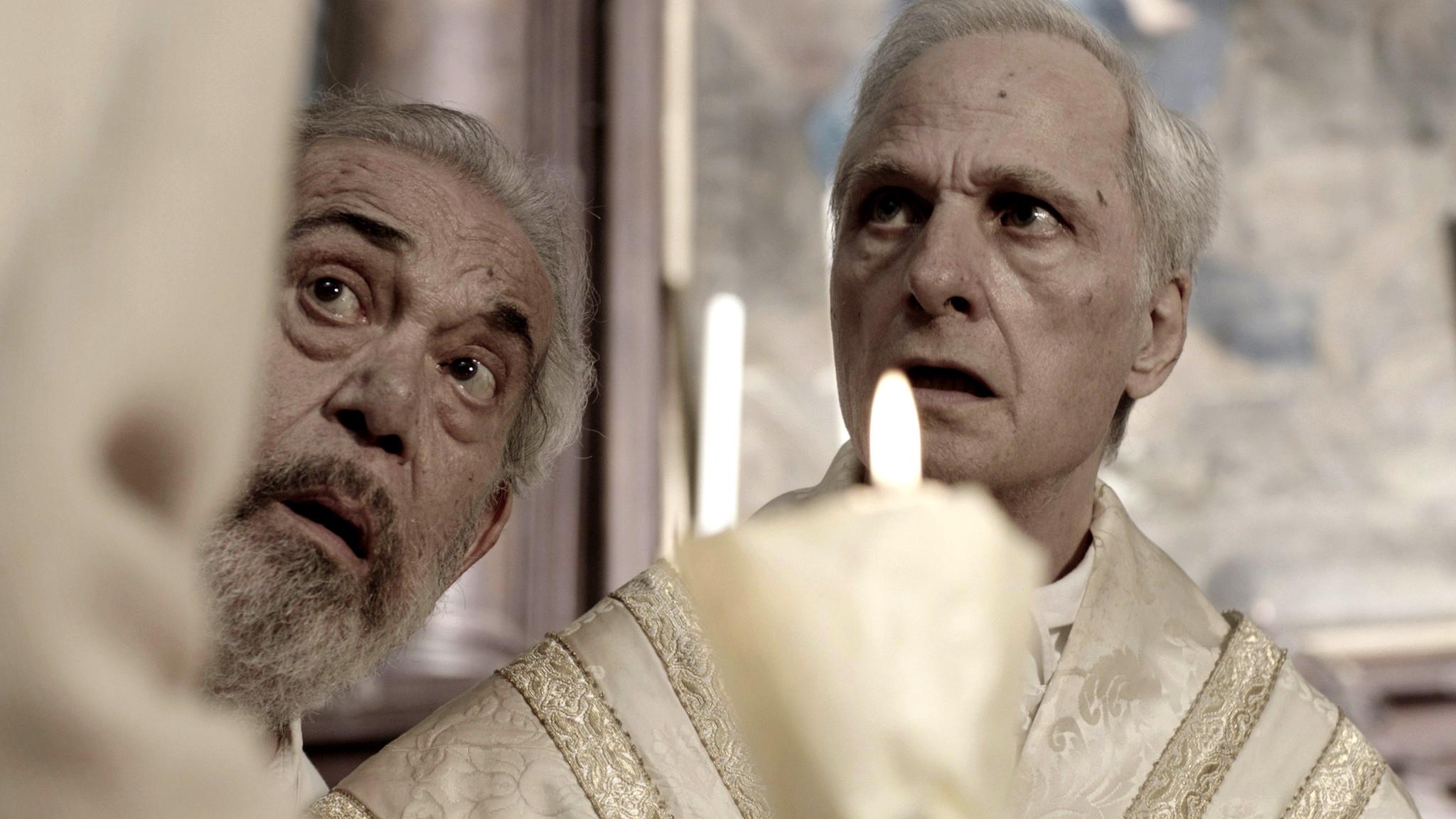 Gianni Cavina e Lino Capolicchio
