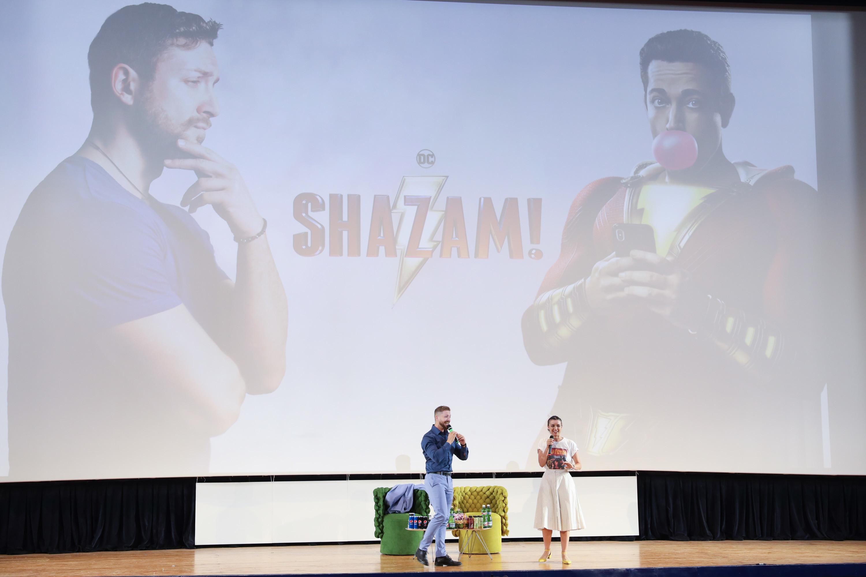 Maurizio Merluzzo al Giffoni parla di Shazam
