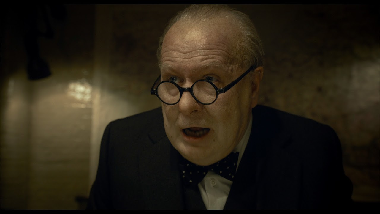 Gary Oldman ne L'ora più buia (2017)