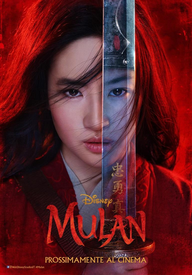 Mulan: il Poster