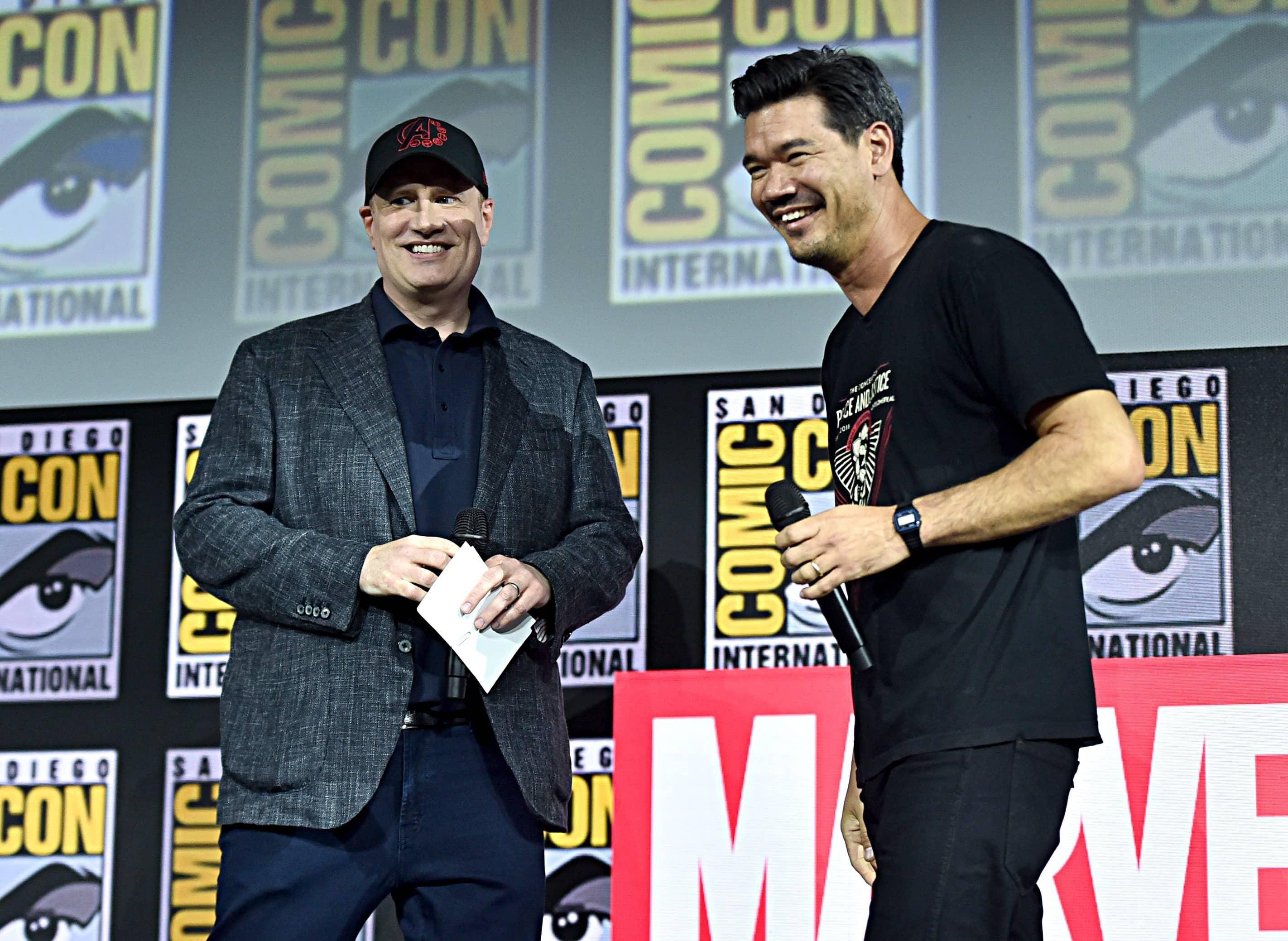 Kevin Feige e Destin Daniel Cretton