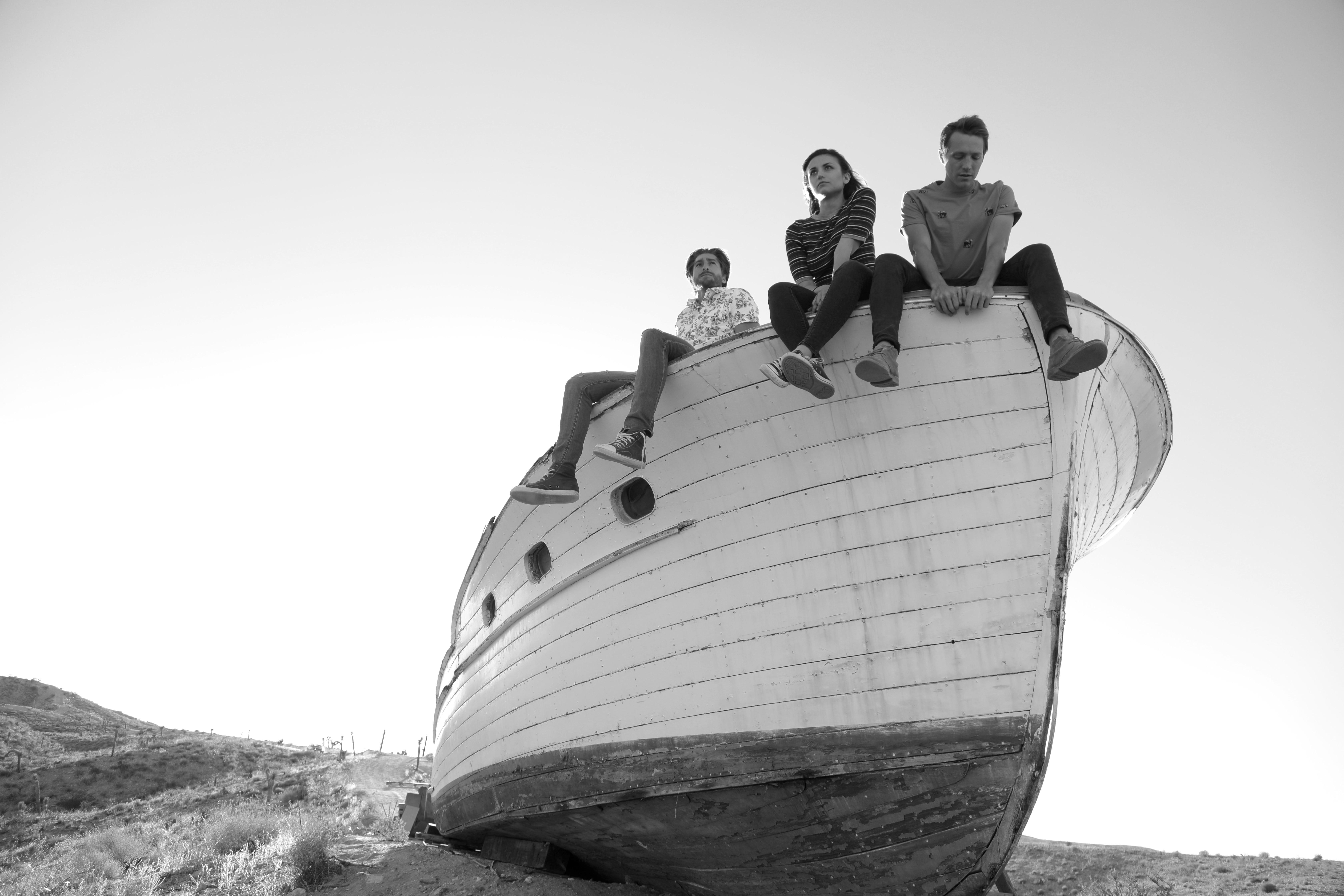 Cristina Rambaldi, Mattia Minasi e Neyssan Falahi