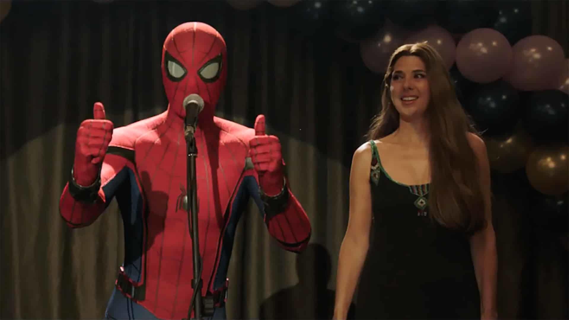 Spider-Man e Marisa Tomei