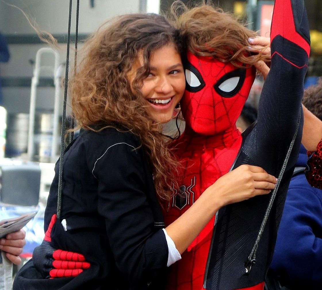 Zendaya e Tom Holland in love