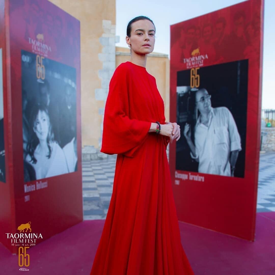 Taormina Film Fest 65: Kasia Smutniak