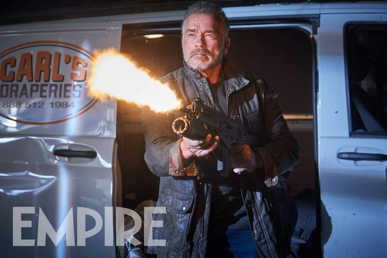 Arnold Schwarzenegger in Terminator: Destino Oscuro