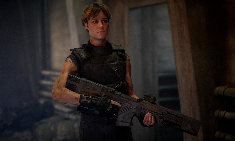 Mackenzie Davis in Terminator: Destino Oscuro