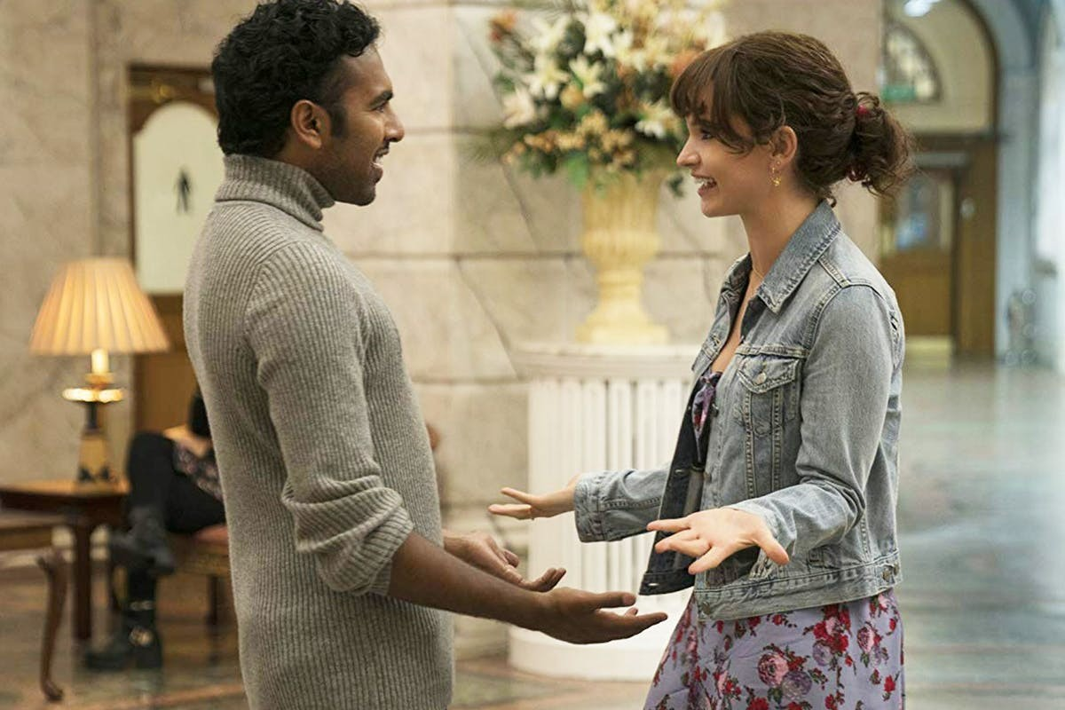 Himesh Patel e Lily James