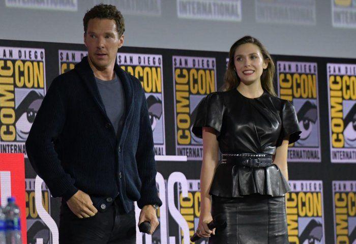 Benedict Cumberbatch e Elizabeth Olsen