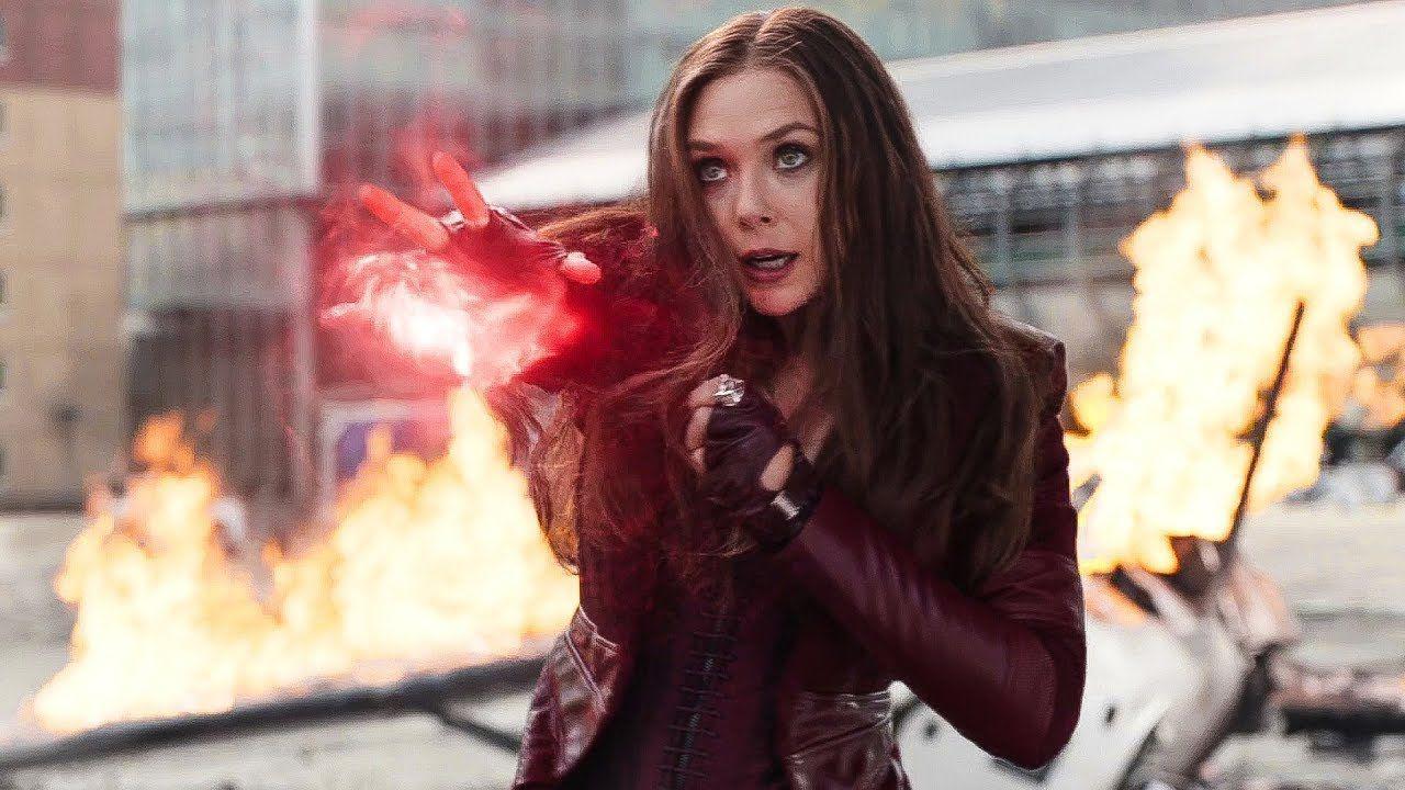 Elizabeth Olsen è Wanda Maximoff