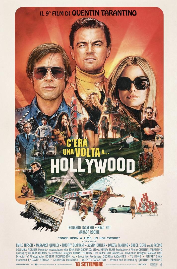 C'era una volta a… Hollywood: il Poster
