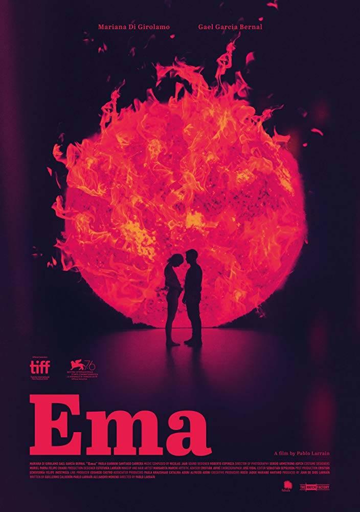 Ema di Pablo Larraín: Il Poster