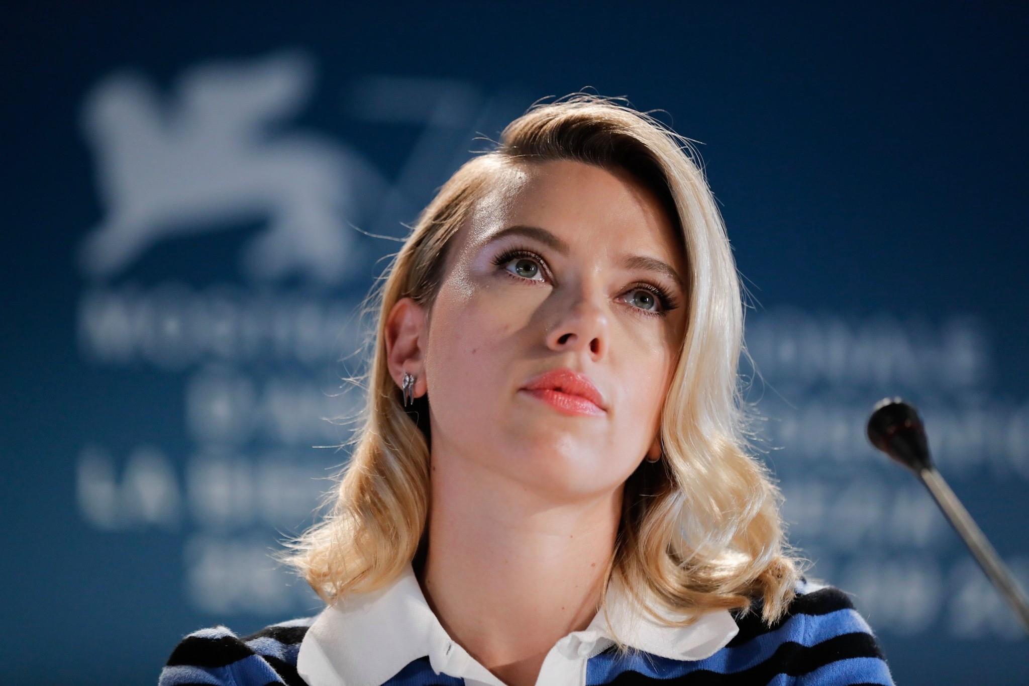Scarlett Johansson a Venezia 76