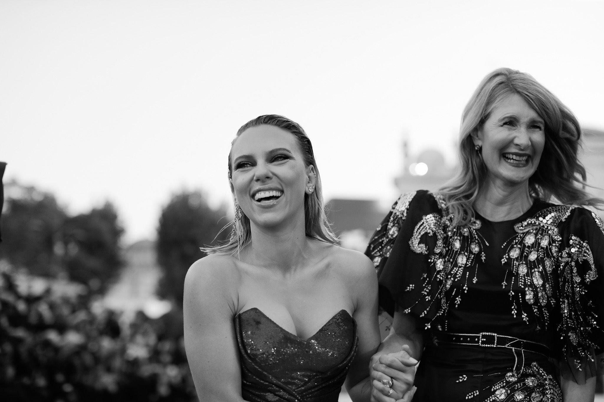 Scarlett Johansson, e Laura Dern al Festival di Venezia