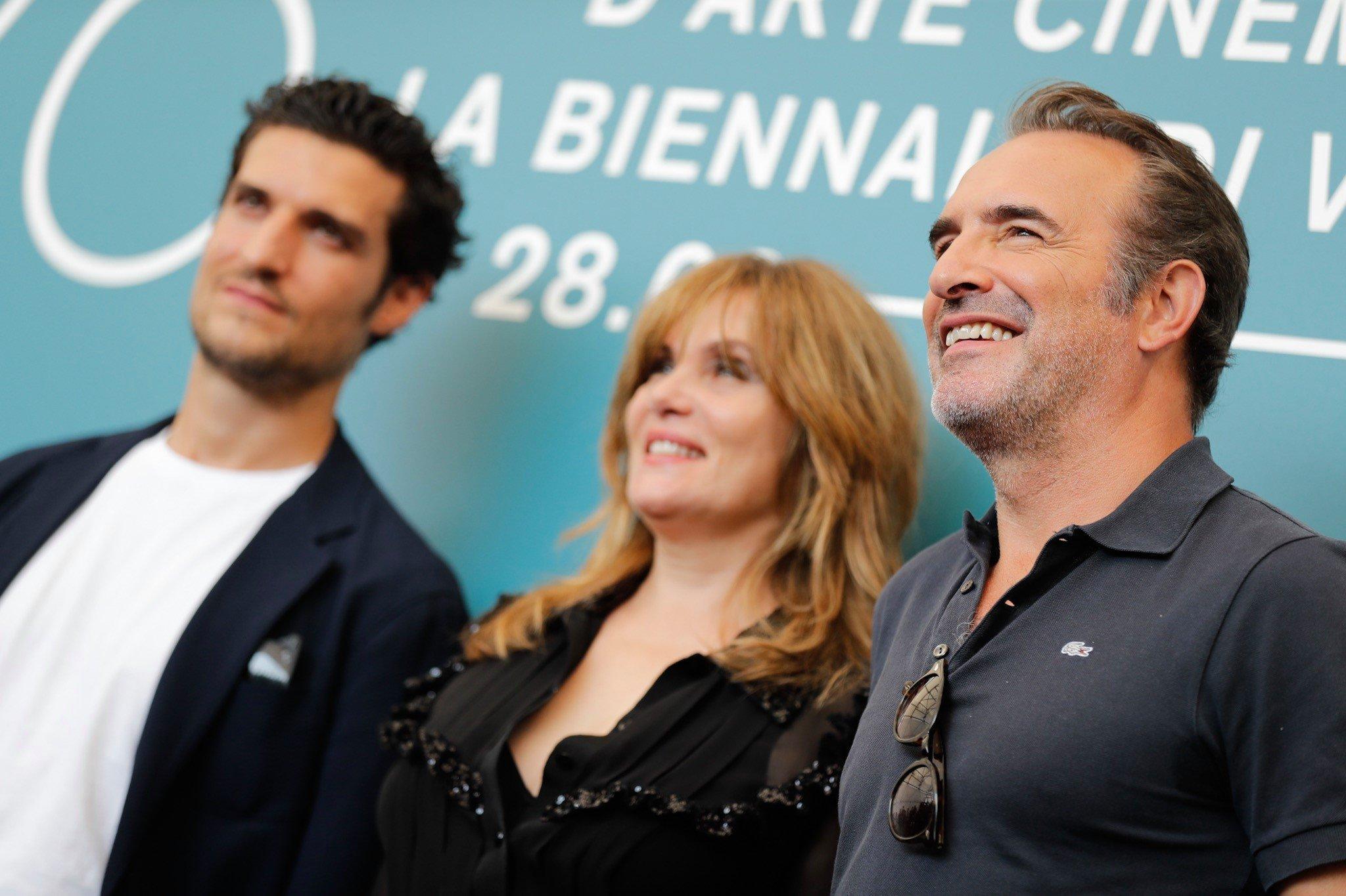 Il cast de L'ufficiale e la spia di Polanski a Venezia