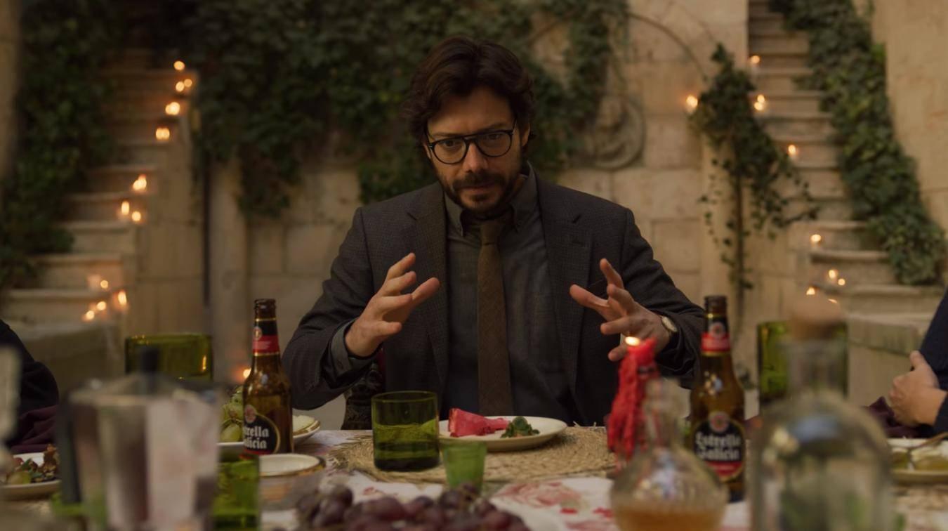 Álvaro Morte è Il Professore