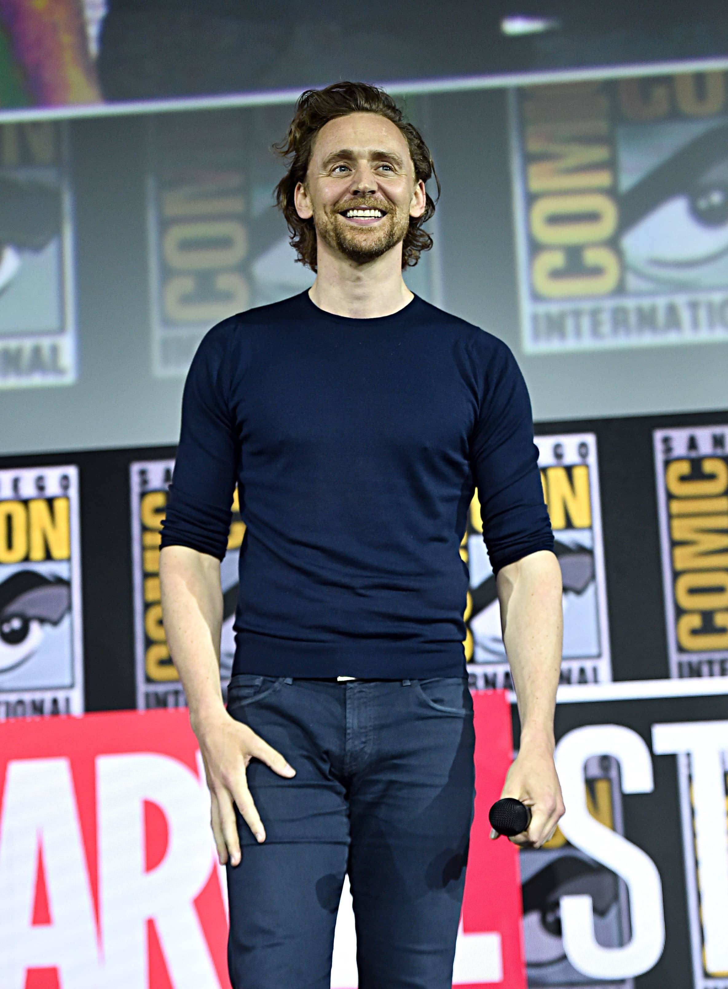 Tom Hiddleston al San Diego Comic-Con 2019